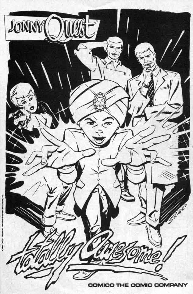 Classic Jonny Quest Comics