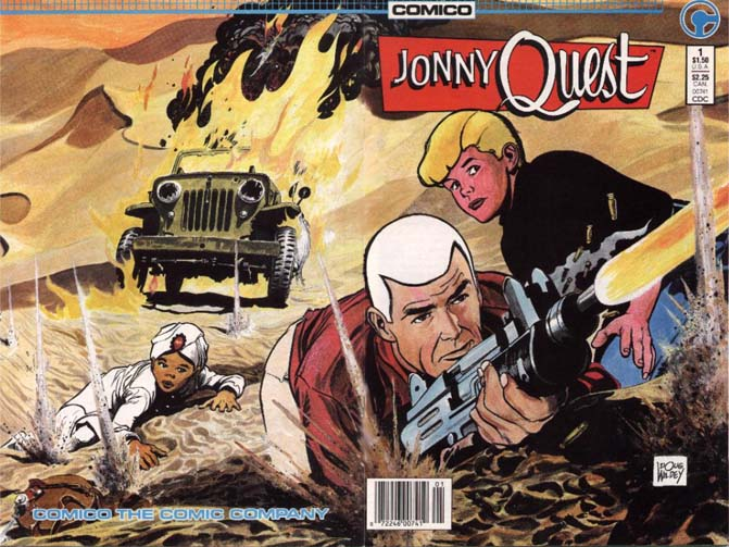 Jonny Quest comic
